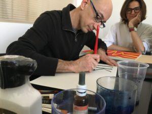 Incontro con la calligrafia con Graziano De Rossi
