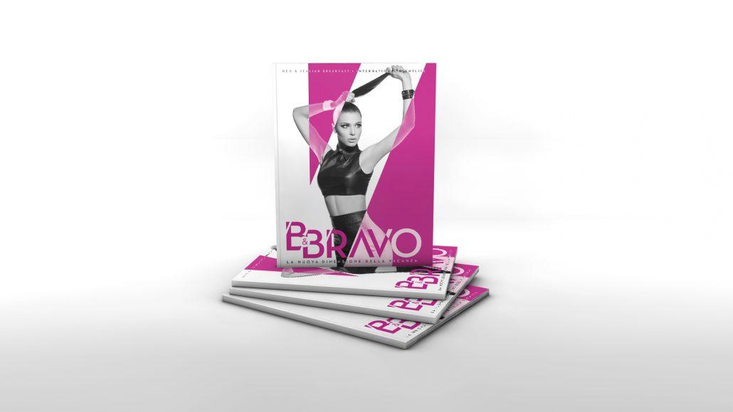 B&Bravo - Brand identity